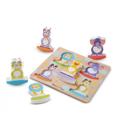 Melissa and Doug - Puzzle bebe Safari Balance