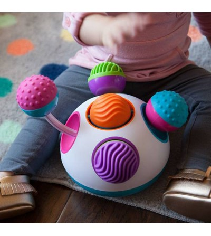 Jucarie senzoriala Fat Brain Toys Klickity - Jucării bebeluși