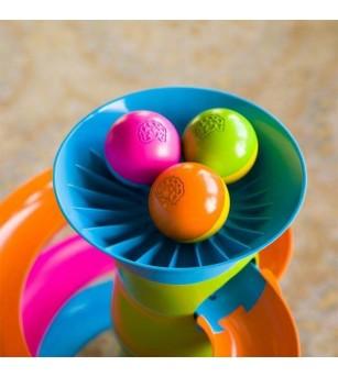 Turnulet cu bile Fat Brain Toys RollAgain - Jucării motrice