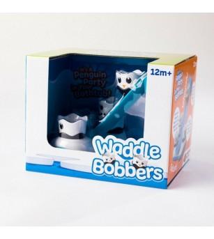 Jucarie de baie Fat Brain Toys Petrecerea Pinguinilor - Jucării bebeluși