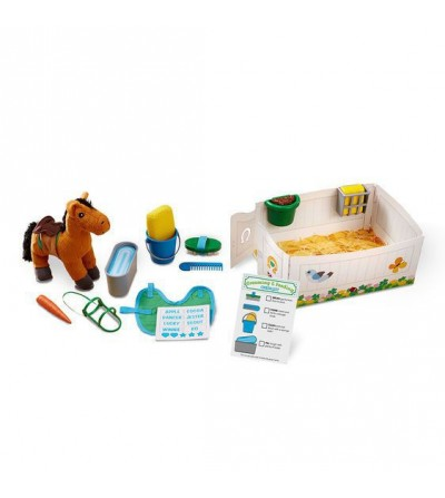Set de joaca Melissa and Doug - Ingrijeste calutii - Doctor
