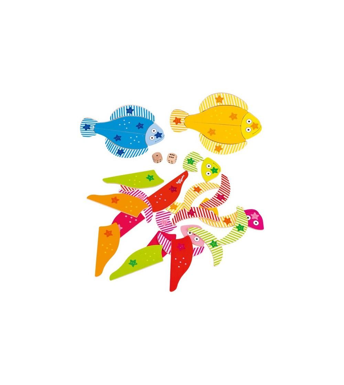 Joc educativ Goki - Pestisorii colorati - Jucării creativ-educative