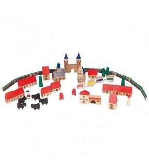 Joc de constructii - Oraselul - Jocuri construcție