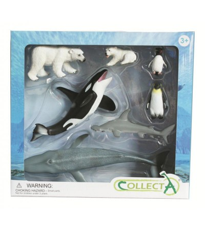 Set 7 figurine Collecta - Viata Marina - Figurine