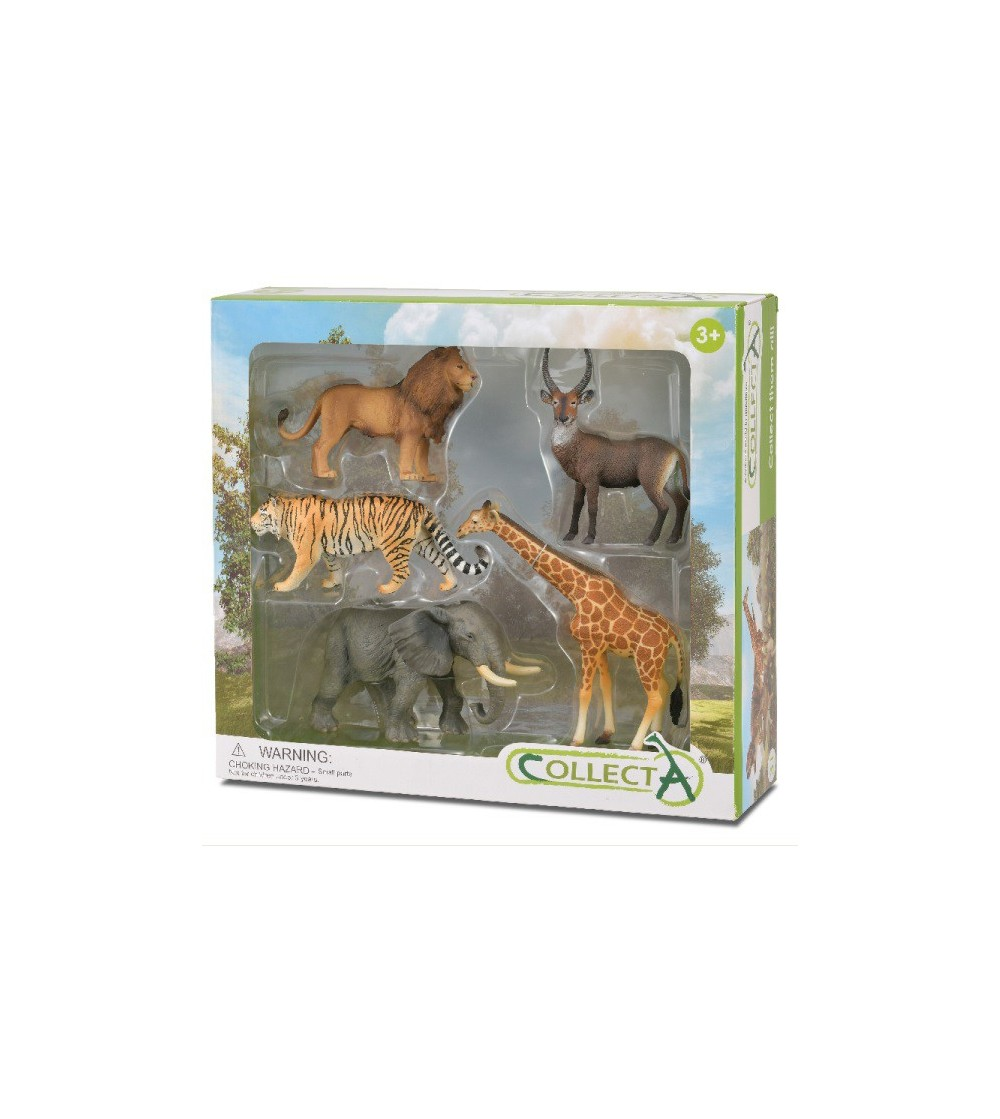 Set 5 figurine Collecta - Animale Salbatice - Figurine