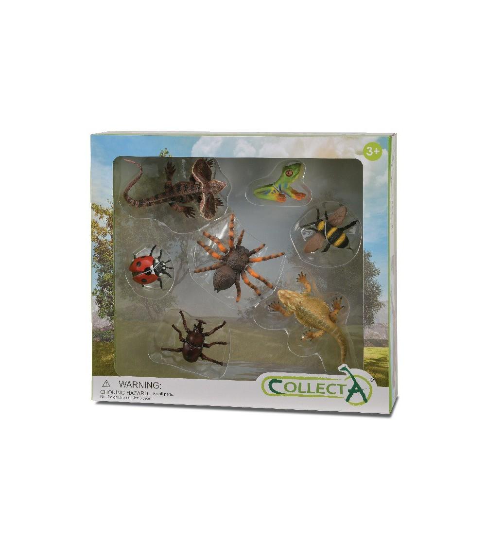 Set 7 figurine Collecta - Insecte - Figurine