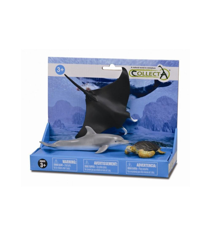 Set 3 figurine Collecta - Viata marina - Figurine