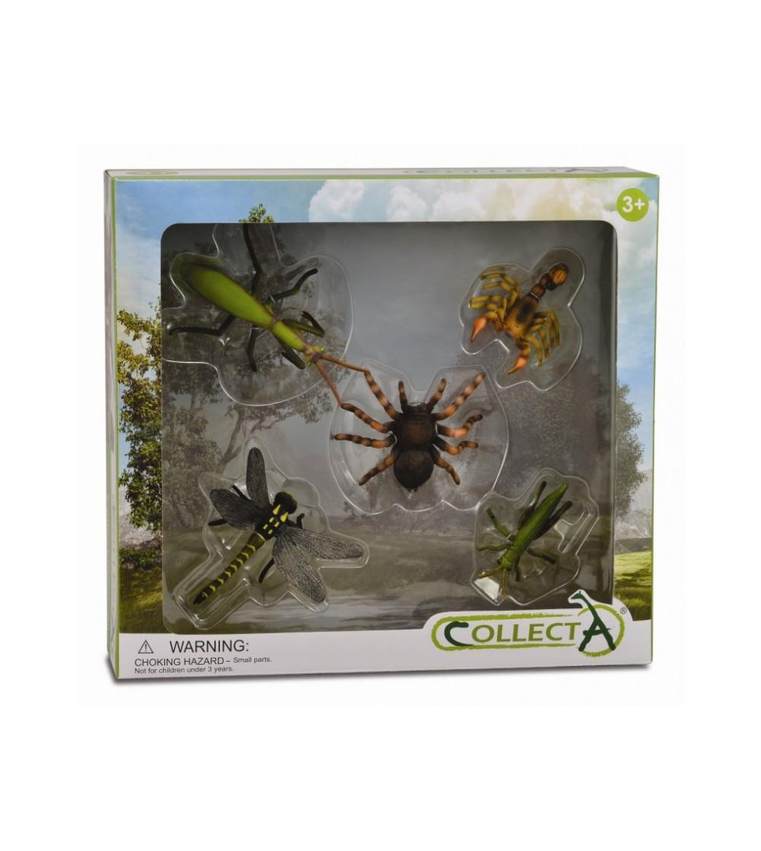 Set 5 figurine Collecta - Insecte - Figurine
