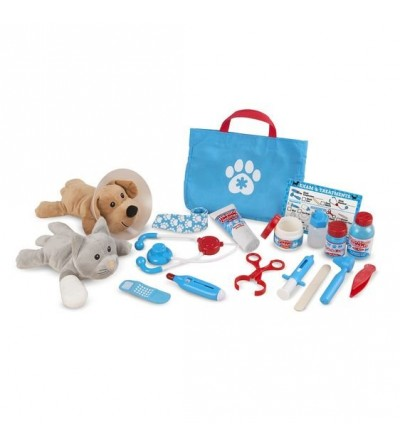 Set de joaca Melissa & Doug - La veterinar - Doctor