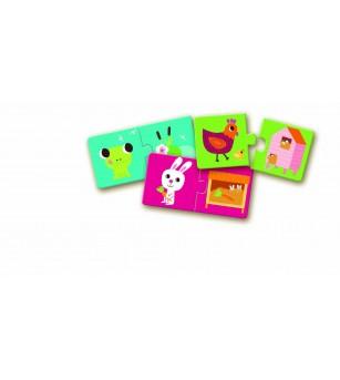 Puzzle duo Djeco Habitat - Puzzle-uri