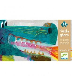 Puzzle gigant Djeco Dragon - Puzzle-uri