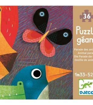 Puzzle gigant Djeco Parada animalelor - Puzzle-uri
