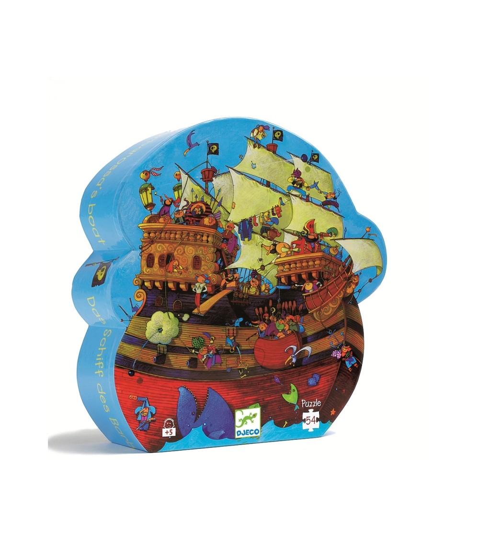 Puzzle Djeco Corabia Barbarossa - Puzzle-uri