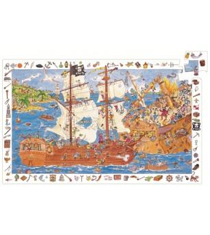 Puzzle observatie Djeco Pirati - Puzzle-uri