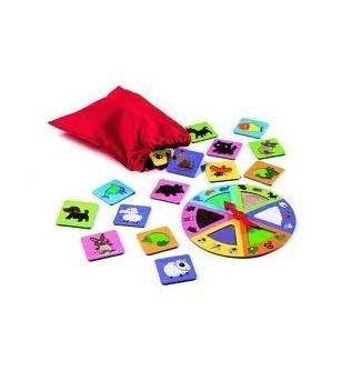 Tactilo loto Djeco - Jocuri