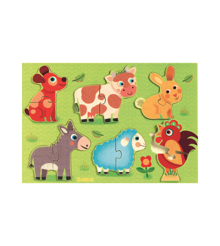 Puzzle Coucou Djeco - Puzzle-uri