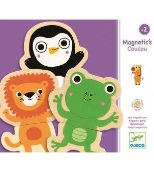 Joc cu magneti Djeco Animale- prietenoase - Jucarii magnetice