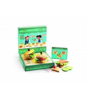 Set confectionat sandvisuri copii Djeco - Bucătărie copii