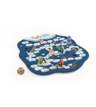 Joc de strategie Pinguini pe gheata Djeco - Jocuri de masă