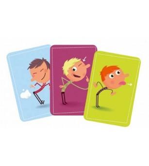 Joc de carti Djeco Tip Top Clap - Jocuri de memorie și asociere