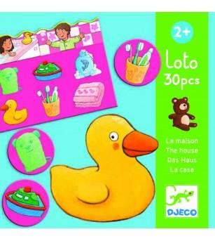 Loto cu obiecte Djeco - Jocuri de memorie și asociere