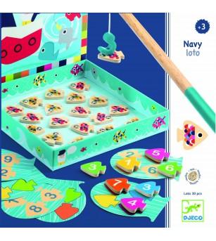 Joc educativ Navy loto Djeco - Jucarii magnetice