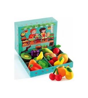 Fructe si legume Djeco - Bucătărie copii