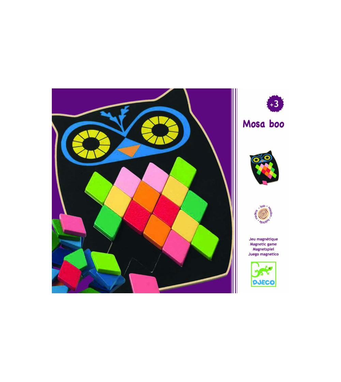 Puzzle mozaic - Bufniță