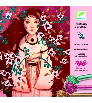 Atelier creativ cu sclipici, Portrete - Desen și pictură