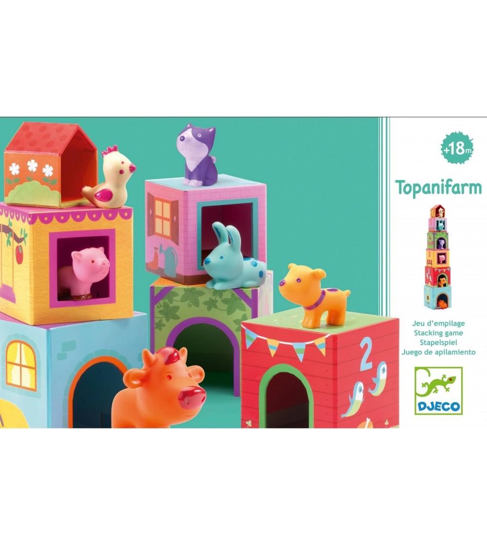 Topanifarm Djeco - Jucării de lemn si Montessori