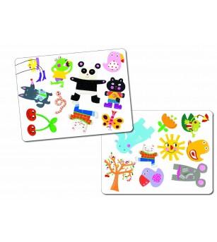 Mini match joc de observatie Djeco - Jocuri de observație și atenție