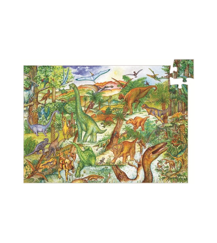 Puzzle observatie Djeco Dinozauri - Puzzle-uri