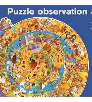 Puzzle observatie Djeco - Evolutie - Puzzle-uri