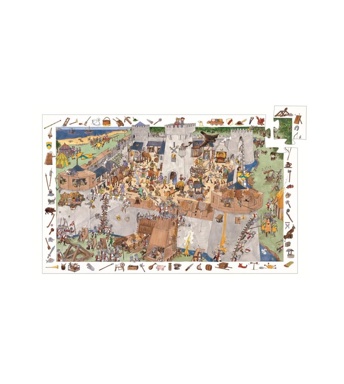 Puzzle observatie Djeco Fortareata - Puzzle-uri