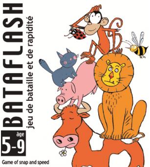 Joc de carti Djeco Bataflash - Jocuri de masă