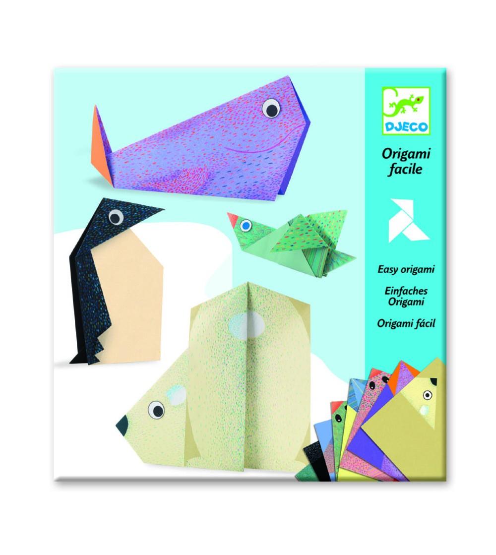Origami animale polare Djeco - Lucru manual
