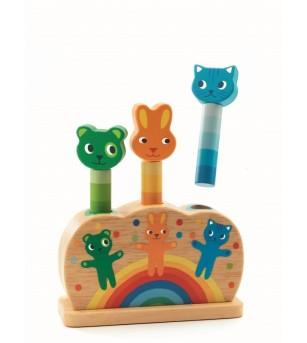 Pop up jucarie motorica Djeco - Jucării de lemn si Montessori