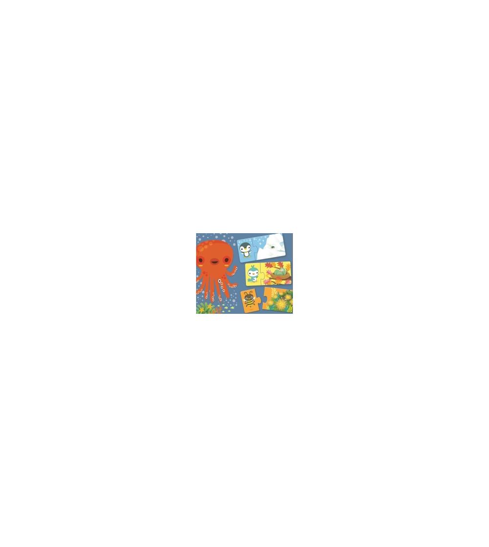 Puzzle duo Djeco Ascunselea - Puzzle-uri