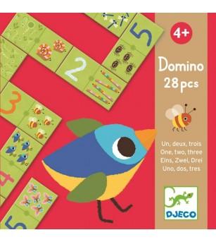 Domino numere Djeco - Jucării logică
