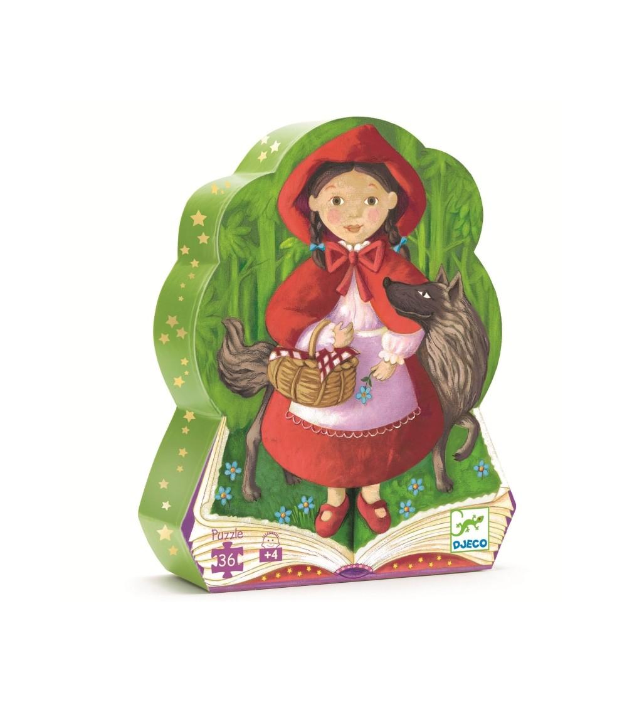 Puzzle Djeco Scufita rosie - Puzzle-uri