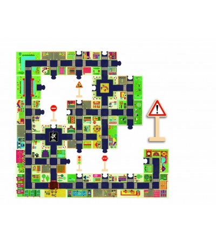 Puzzle gigant Djeco Orasul - Puzzle-uri