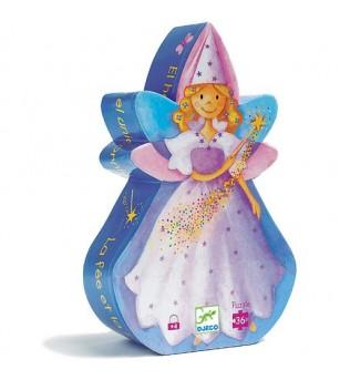 Puzzle Djeco Zana si unicornul - Puzzle-uri