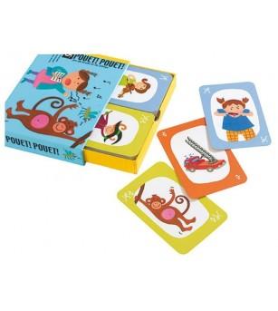 Joc de carti Djeco Pouet Pouet - Jocuri de masă