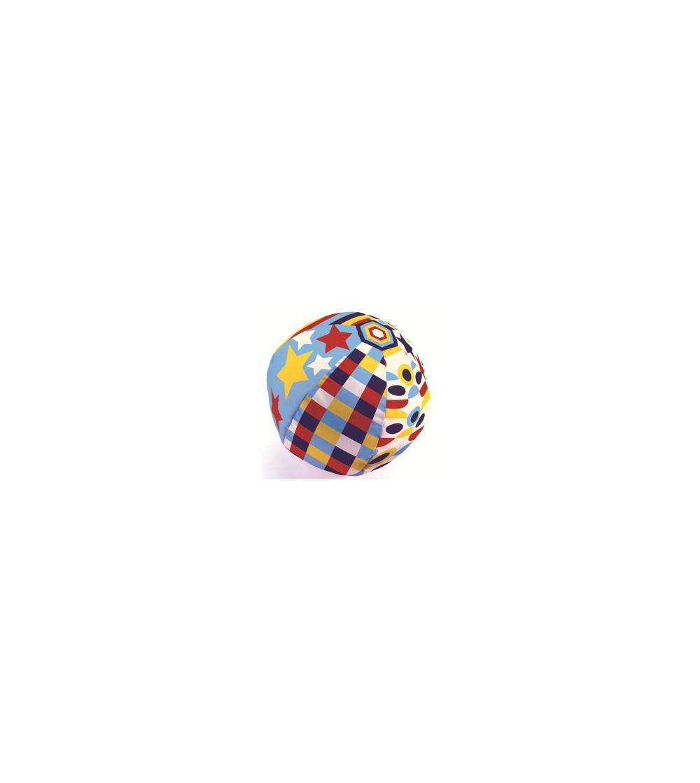 Minge usoara Djeco, Balon Geometric - Jucării bebeluși