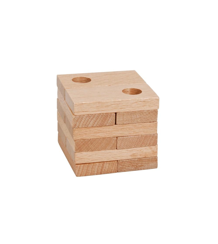 Joc logic IQ din lemn-16 - Jucării logică