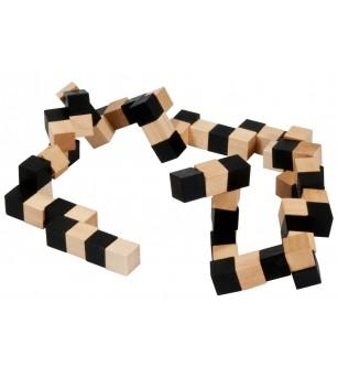 Joc logic IQ din lemn - Anaconda 2 - Jucării logică