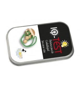 Joc logic IQ elibereaza inelul in cutie metalica-1 - Jucării logică