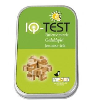 Joc logic IQ din lemn bambus in cutie metalica-10 - Jucării logică