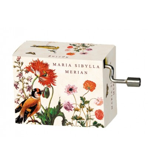 Flașnetă Maria Sibylla Merian (păsări), melodie Vivaldi Spring