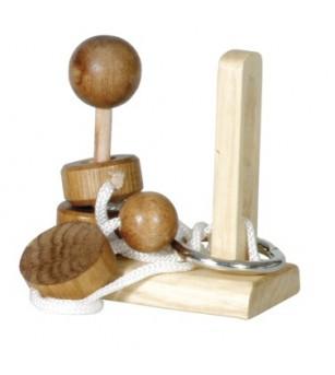 IQ Test Elibereaza inelul-3 - Jucării logică